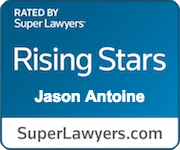 Jason Antoine Super Lawyers Rising star
